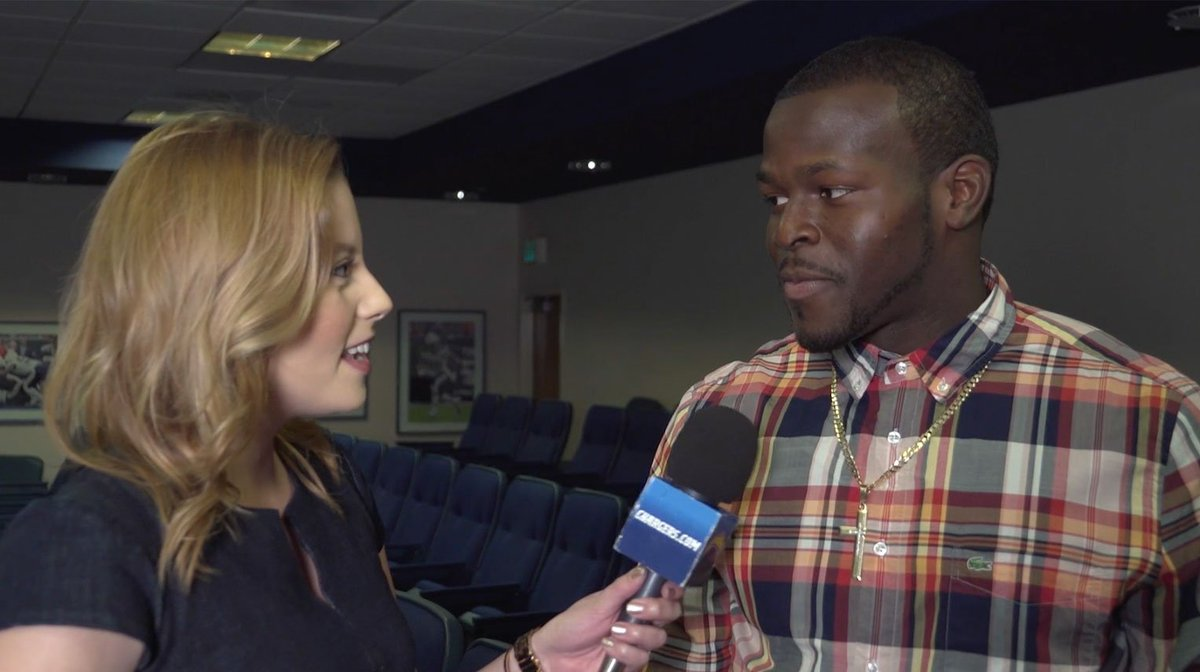 .@BoBelieves talks with @ChargersHElwood about why he wanted to remain...