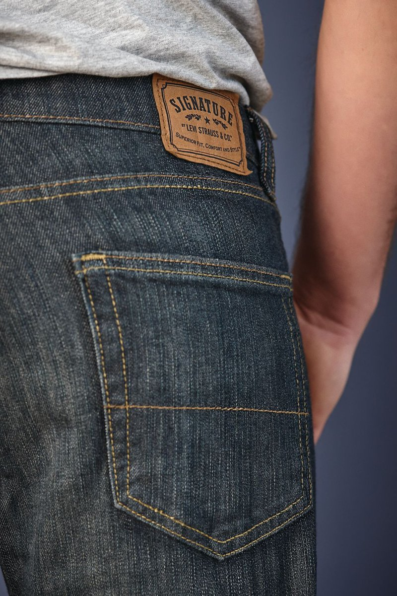 7caccb52cf2 Premium Comfort and performance Flex Denim. Signature by Levi Strauss &  Co.™ for men: available at GT http://bit.ly/2n7iU9h  pic.twitter.com/sp7GsjmjDy