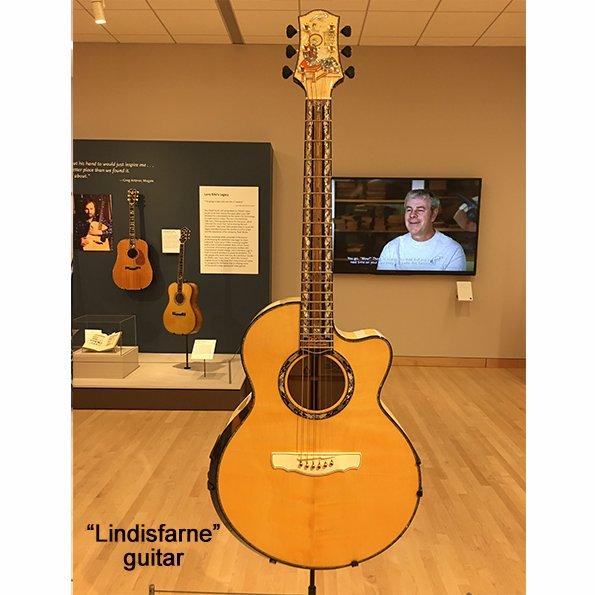 Musical Instrument #Museum Dragons and Vines Inlaid #Guitar Masterpiec...
