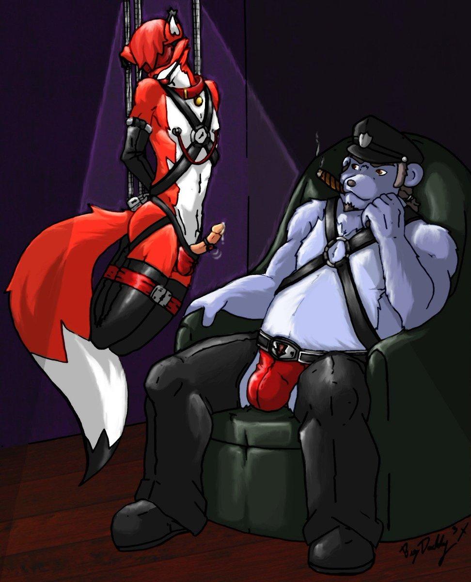 furry bondage