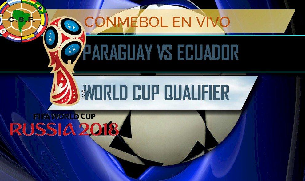 #LALATE  #SOCCER #Paraguay vs #Ecuador  #CopaMundial Qualifier #CONMEBOL  http:// news.lalate.com/2017/03/23/par aguay-vs-ecuador-score-en-vivo-copa-mundial-qualifier/ &nbsp; … <br>http://pic.twitter.com/EcFJHrtEXr