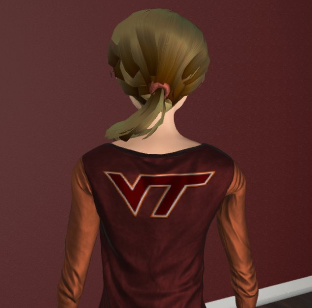 Couldn't help myself - I had to show off my school spirit with a @virginia_tech #VR avatar! #Hokies #VirtualReality