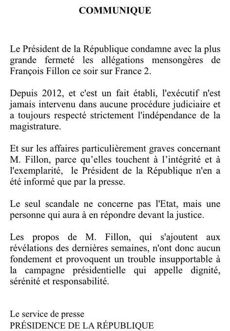 Il y a des jours, très rares très rares, où Hollande s'énerve & cogne publiquement.  Dont le 23 mars 2017 en regardant  à l#Fillona télé. 🎯