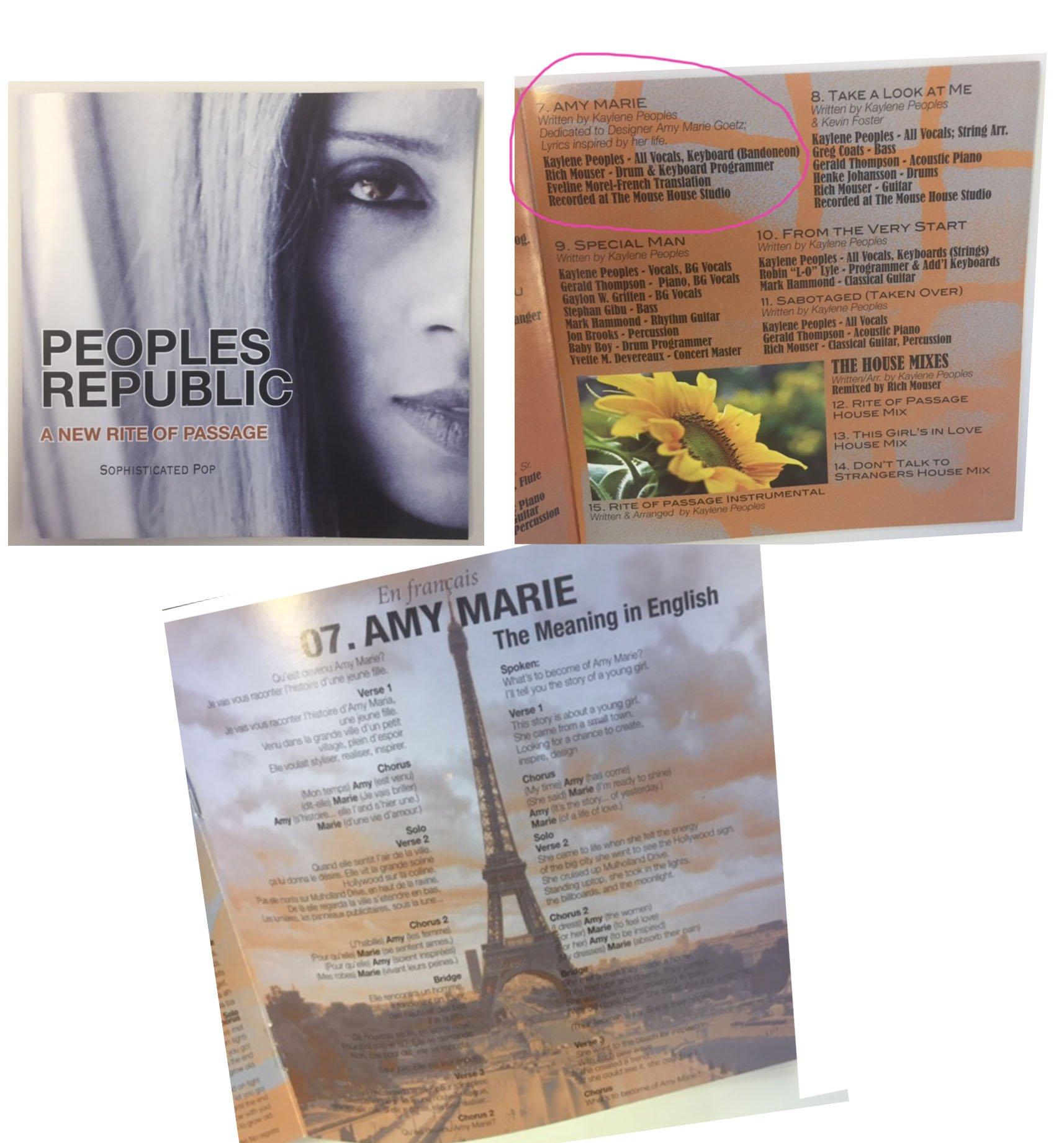 """Amber Marie Goetz amy marie goetz on twitter: """"i will cherish this cd forever"""