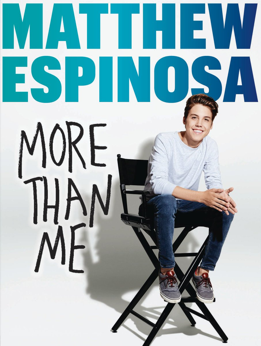Get to know the real @TheMattEspinosa in his new book! MORE THAN ME is coming out soon