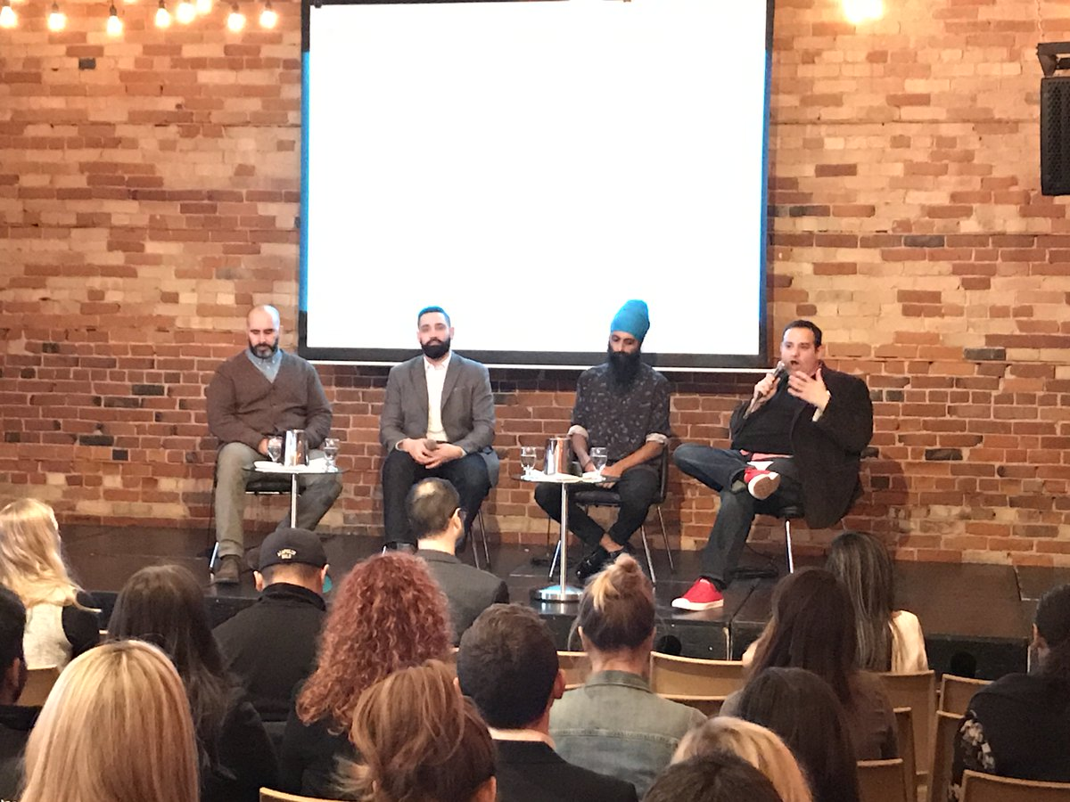 We\'re kicking off our ShopTalk panel on Creating a Climate for Influencer Creativity, here in Toronto! #shoptalk