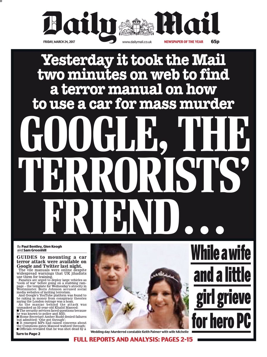 Let's just run that through the Daily Mail to Human translator
