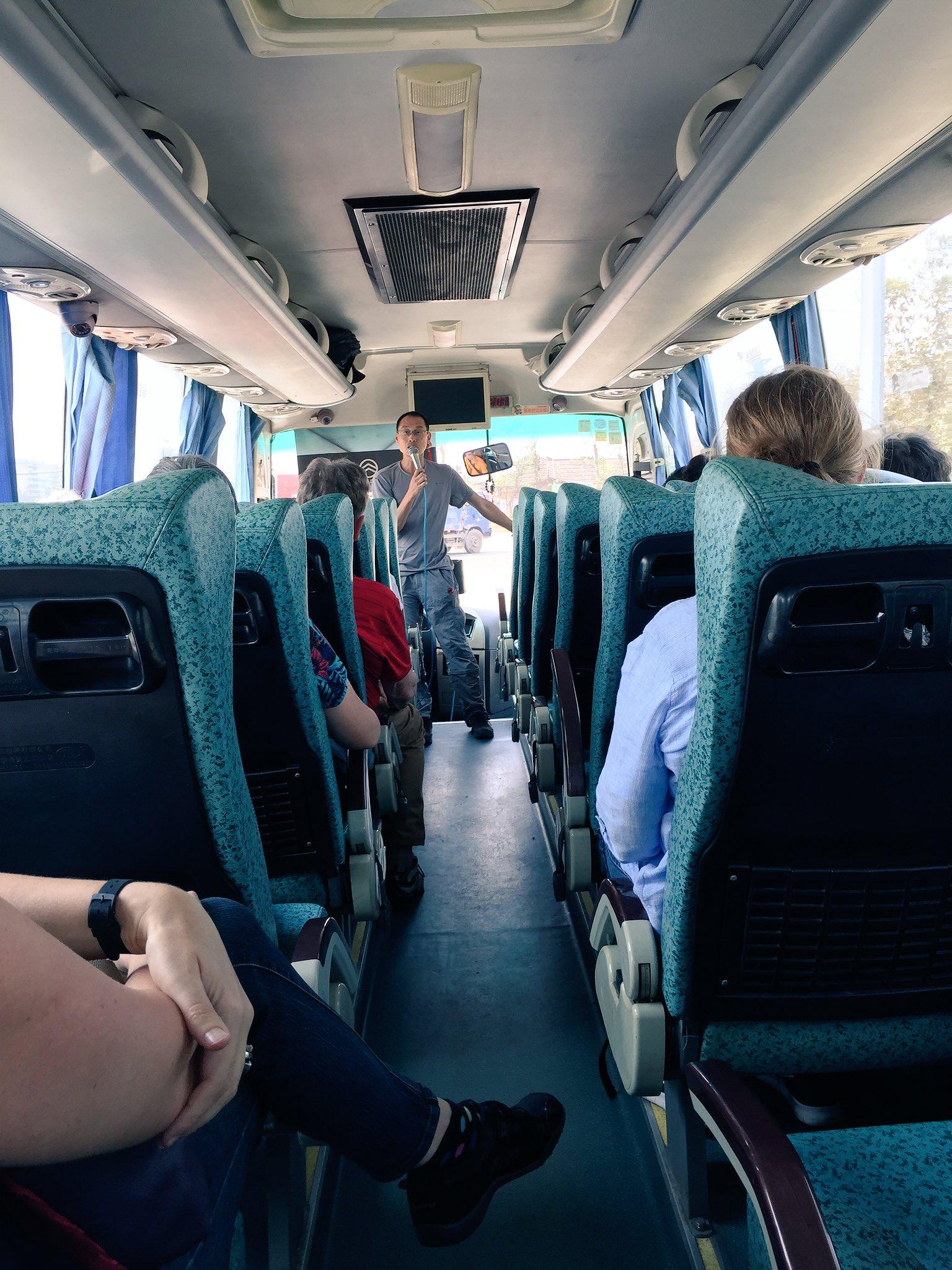 Stony Xiao, our tour guide, introducing us to Jiangmen. https://t.co/FJL36PCS4x