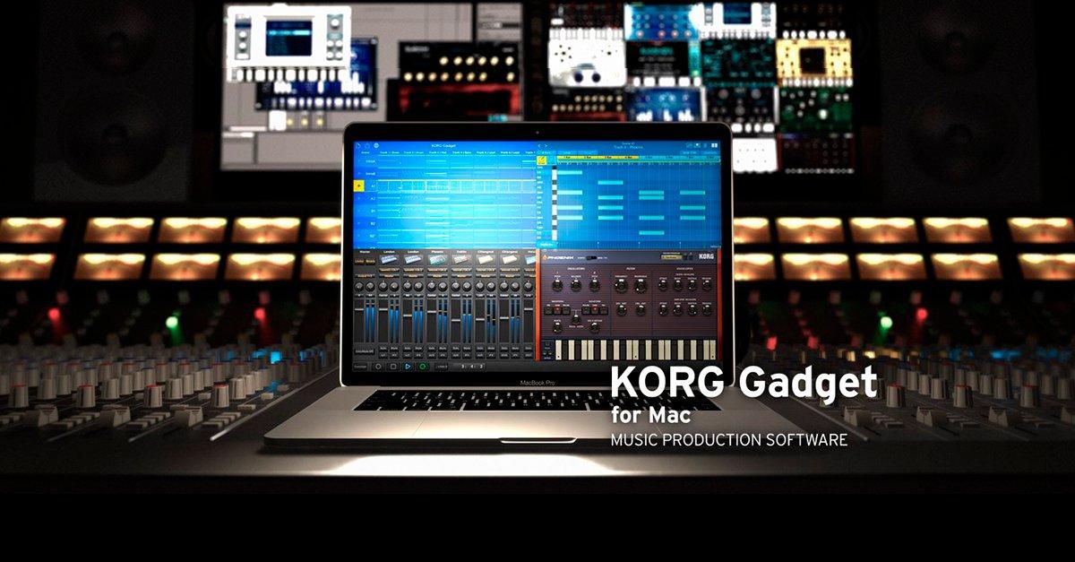 オールインワン音楽制作ソフトウェア「KORG Gadget for Mac」発売開始!期間限定セールを実施。 大変お待たせいたしました。 https://t.co/S29kqaLo1y https://t.co/5Amh0r2dKR