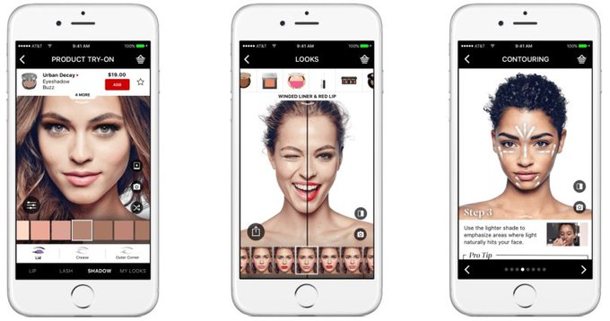 Sephora's AR App Update Lets You Try Virtual Makeup On At Home