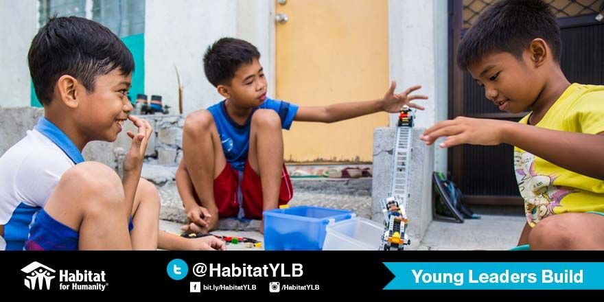 What's your fondest happy memory from your childhood at home? Tweet it and share it here with us!   #HappyHomes #HabitatYLB https://t.co/doJRKFikYe