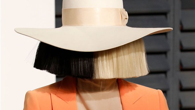 Sia Looks So Different Without Her Signature Wig