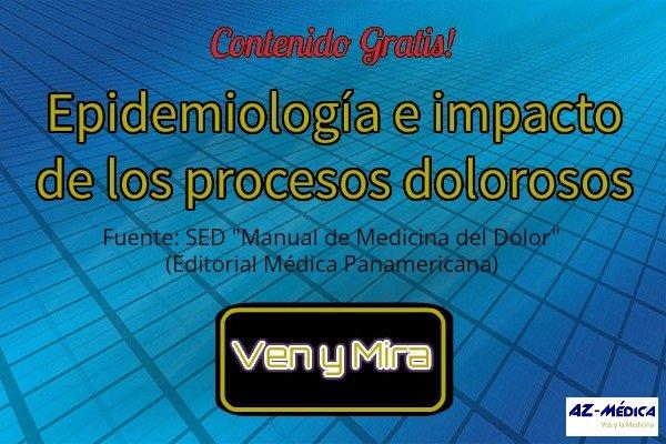Epidemiología e impacto de los procesos dolorosos
