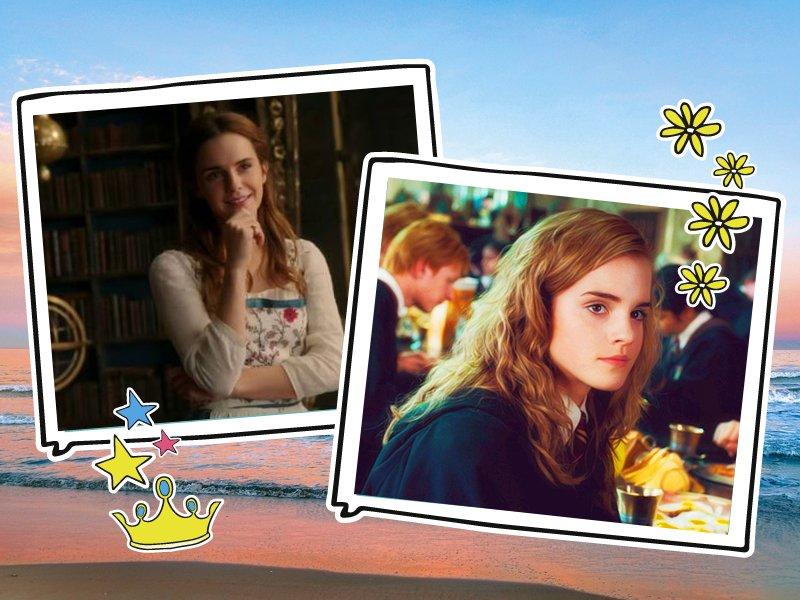 A Bela e a Hermione possuem muitas semelhanças. Saiba quais! https://t...