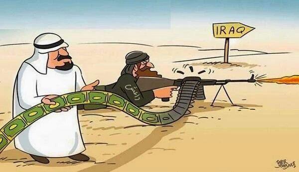 No olviden que son nuestros &quot;Aliados&quot; con sus Petrodólares  quienes están fomentando las masacres islámicas. #ArabiaSaudí = #ISIS<br>http://pic.twitter.com/mmIHChimjV