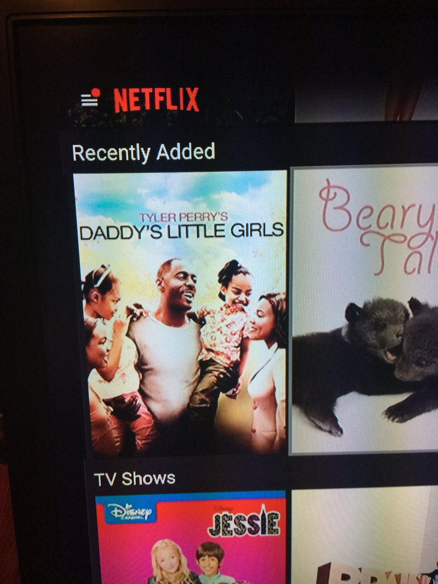 So i was scrolling through netflix and look what's recently