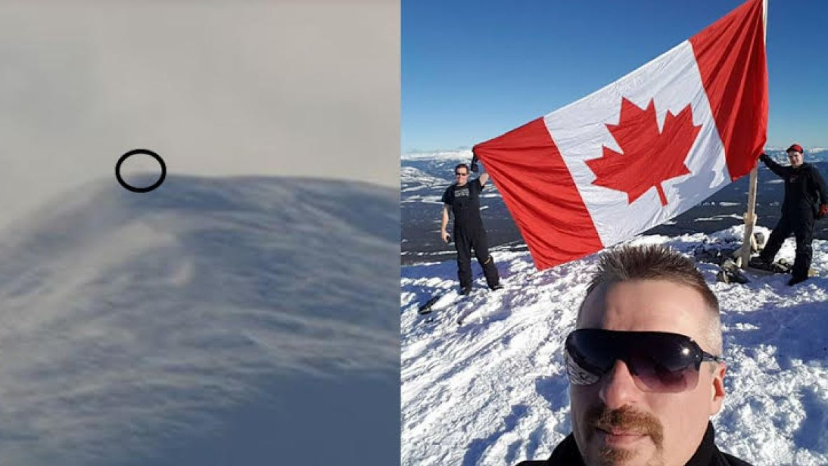The story behind this Canadian flag that mysteriously appeared on a Yu...