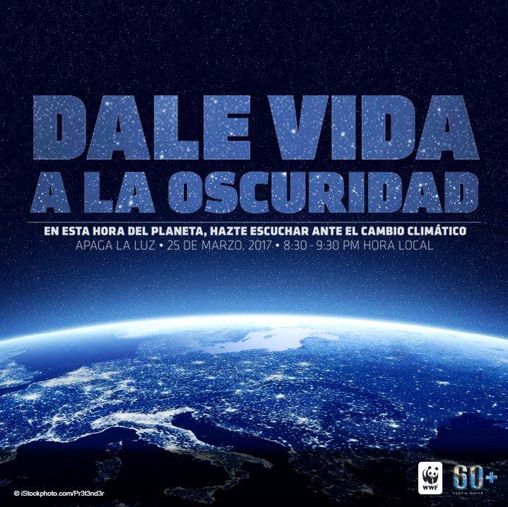 Apoyamos #LaHoraDelPlaneta, entra el 25 de marzo a nuestro Facebook y...