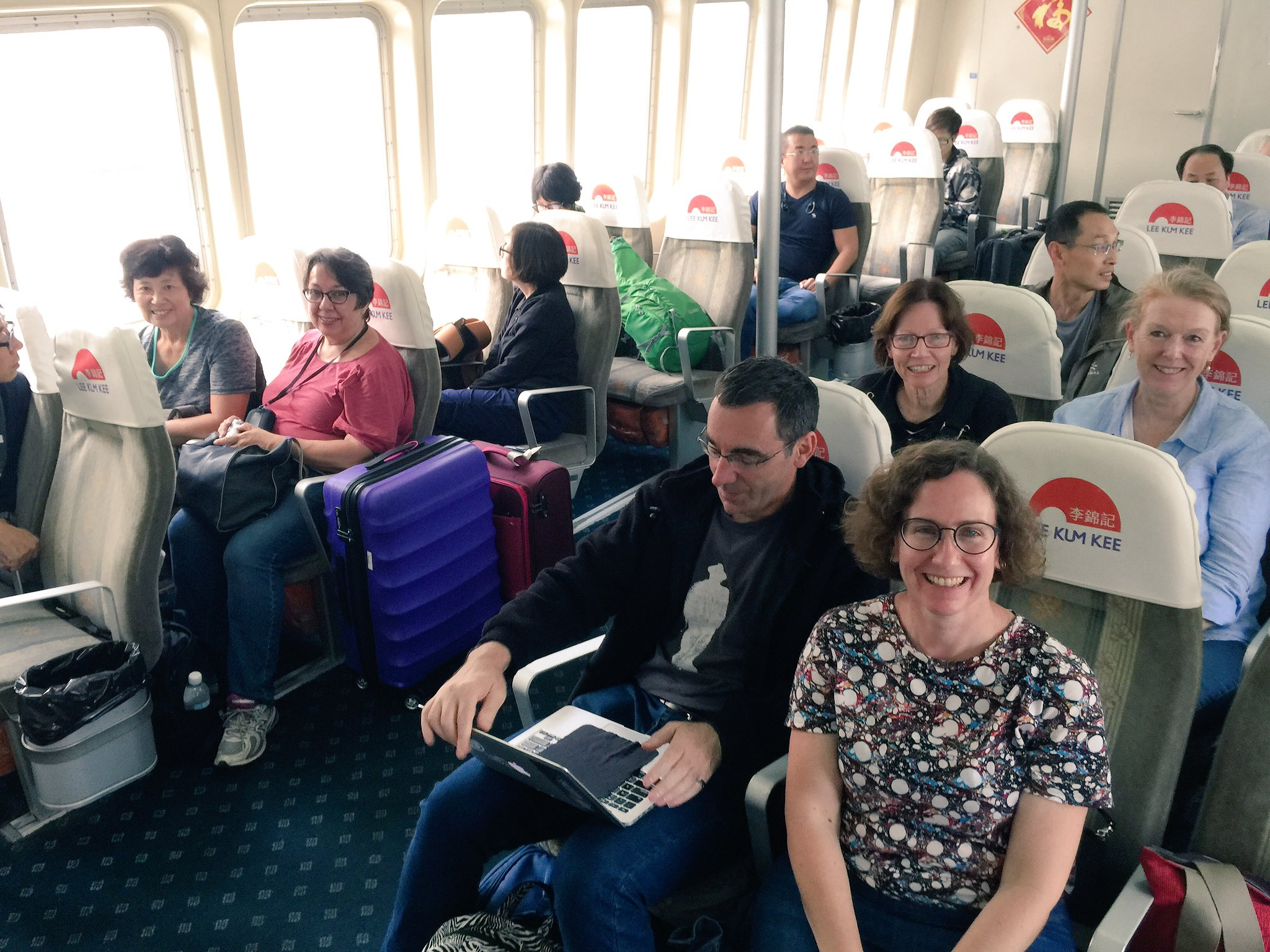 On the boat to Jiangmen. #cahht17 https://t.co/AQQBQAqgum