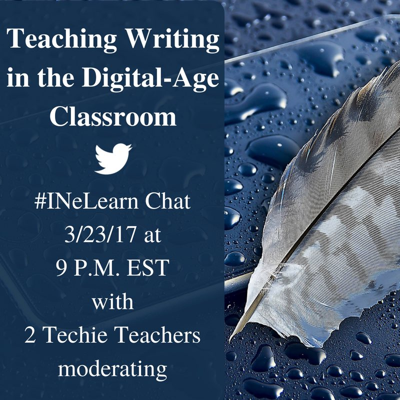 Thumbnail for #INeLearn Chat 3/23/17