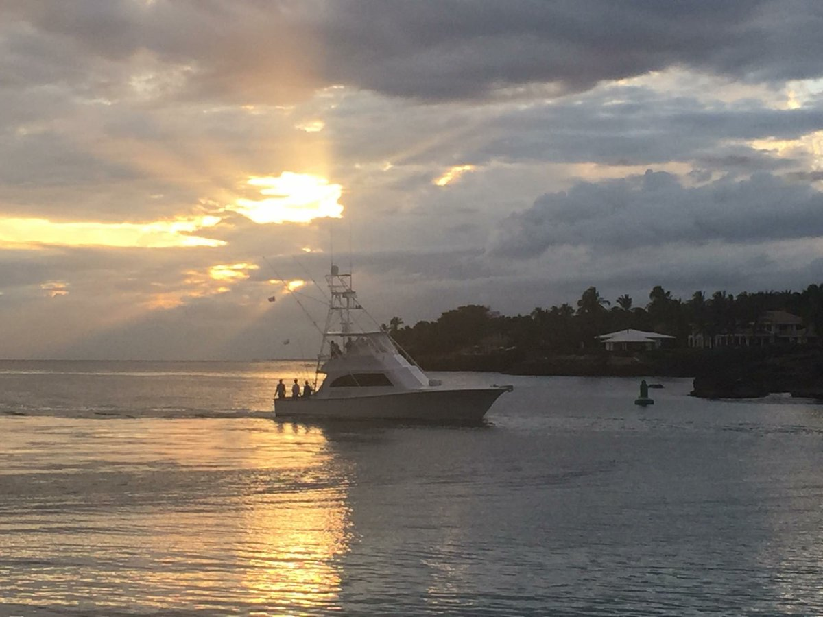 Casa de Campo, DR - Chaser went 2-3 on Blue Marlin.