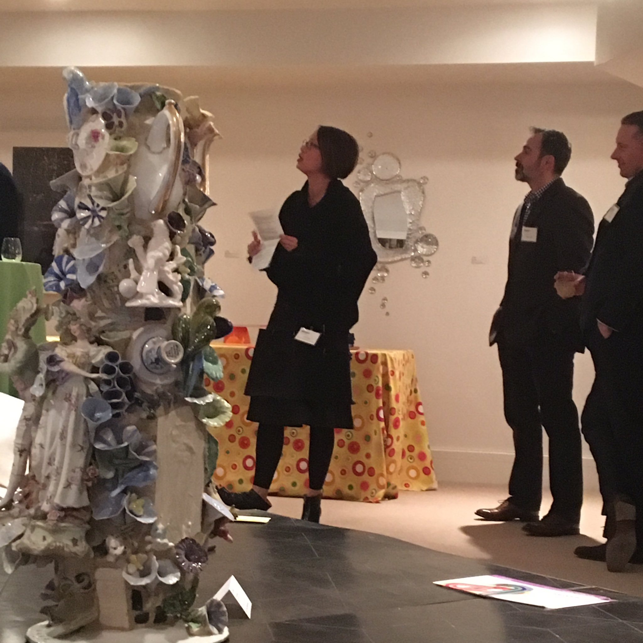 Amazing night and official start of #massartauction. Lisa Tung is a rock star. https://t.co/Up3ff7oLw9