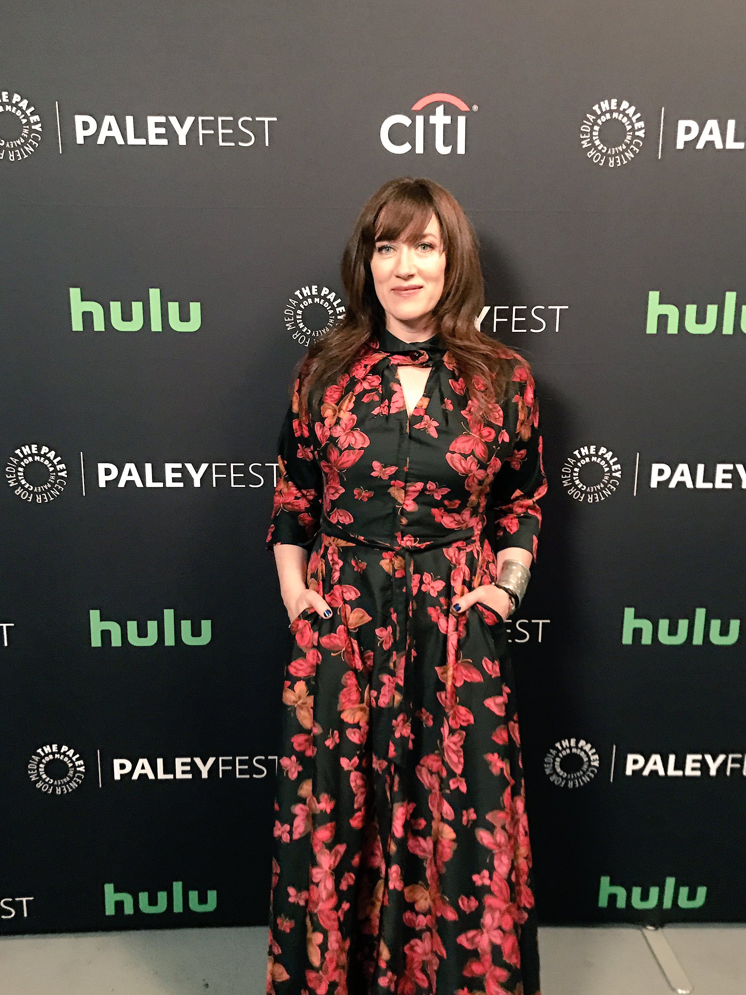 Good evening Maria Doyle Kennedy! So happy you're here at #PaleyFest! #OrphanBlack 📺🌟👯 https://t.co/r0mYljptOs