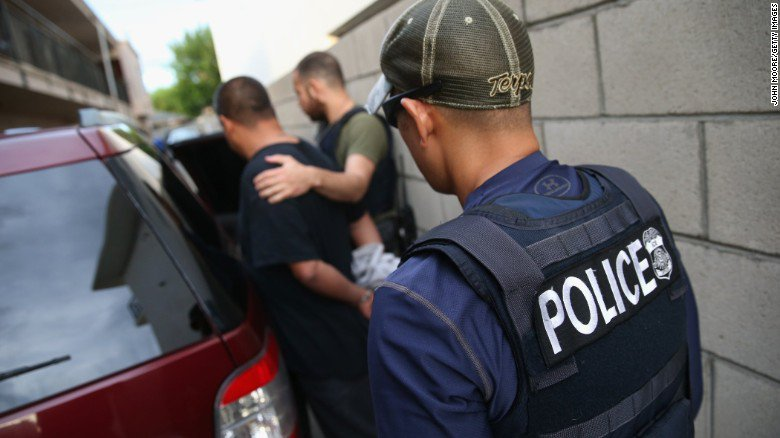 ICE Officers sent POTUS letter demanding change to Catch and Release…