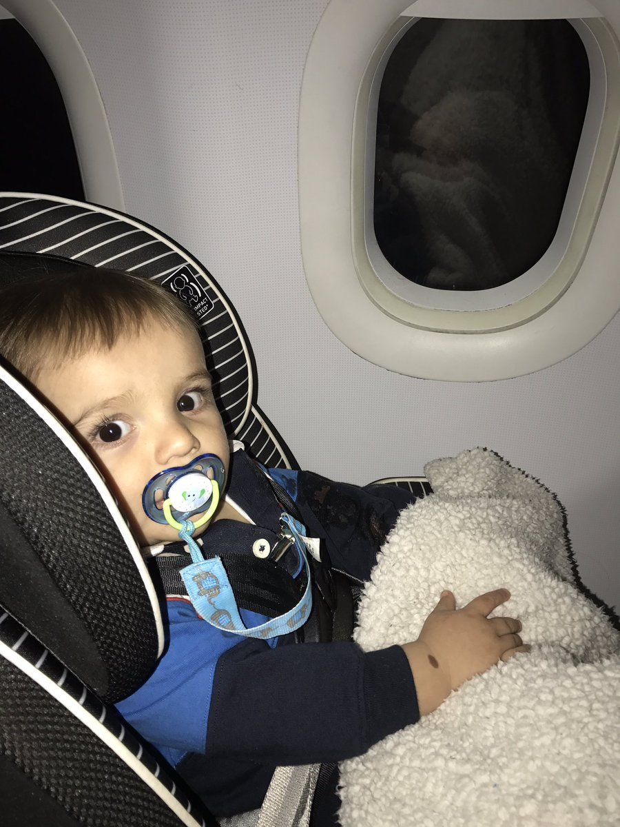 Extra Seat On The Flight So He Got To Sit In His Car Hes One Happy Boy Im An Even Happier Mompictwitter S0buo6NVAn