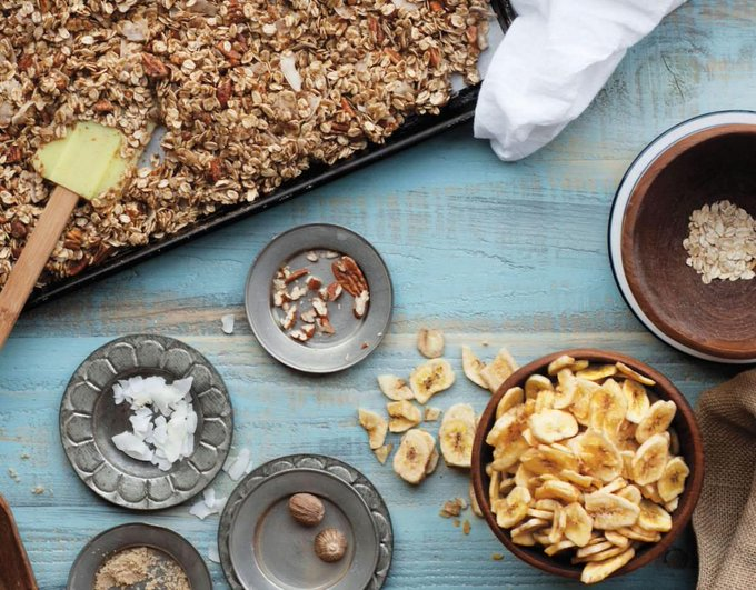 Banana Bread Granola Recipe
