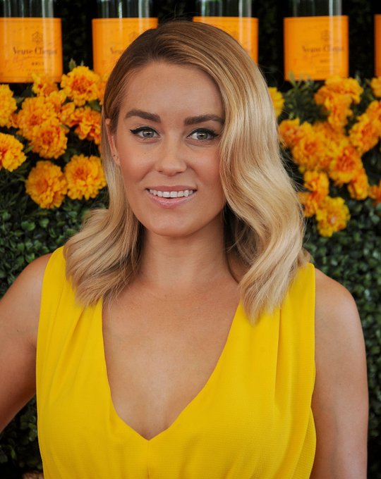 Lauren Conrad Kicked Off 2016 With A New Fiery Hair Color