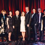 With some of the greats last night honoring @Macys Terry J. Lundgren at #FITgala