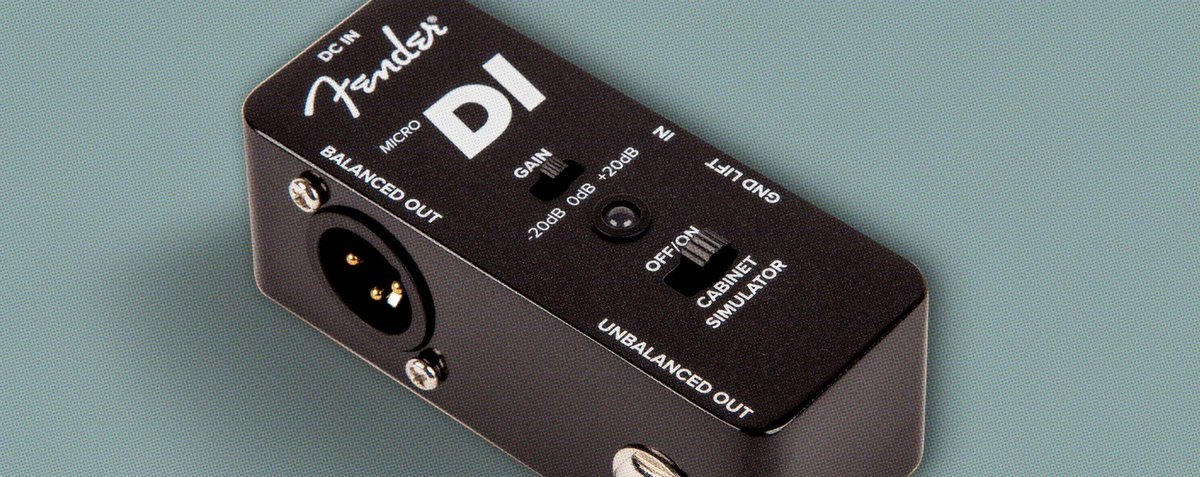 Here's the reason why you should consider using a DI box: https://t.co...