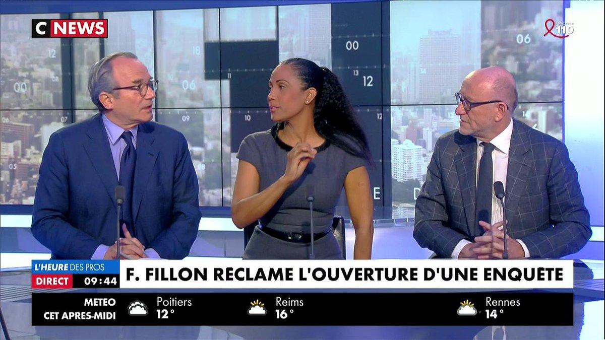 Le viol du secret de l'instruction dénoncé sur le plateau @christine_kelly @JakubowiczA #Fillon