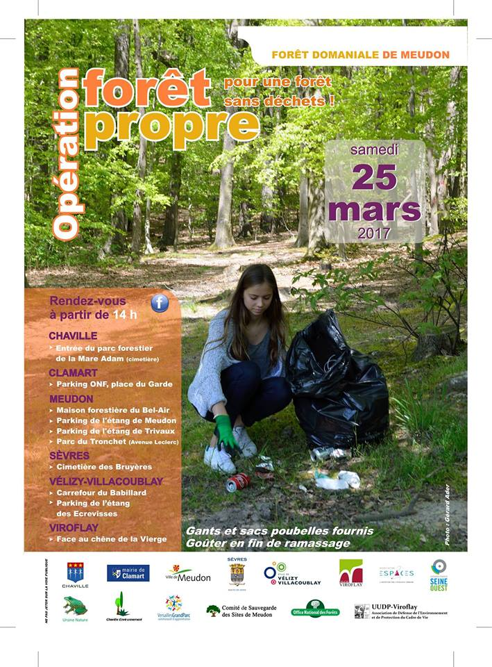 #Ecologie Operation #Forêt Propre : c&#39;est demain à #Meudon @VilledeMeudon<br>http://pic.twitter.com/IMbivWiyaK