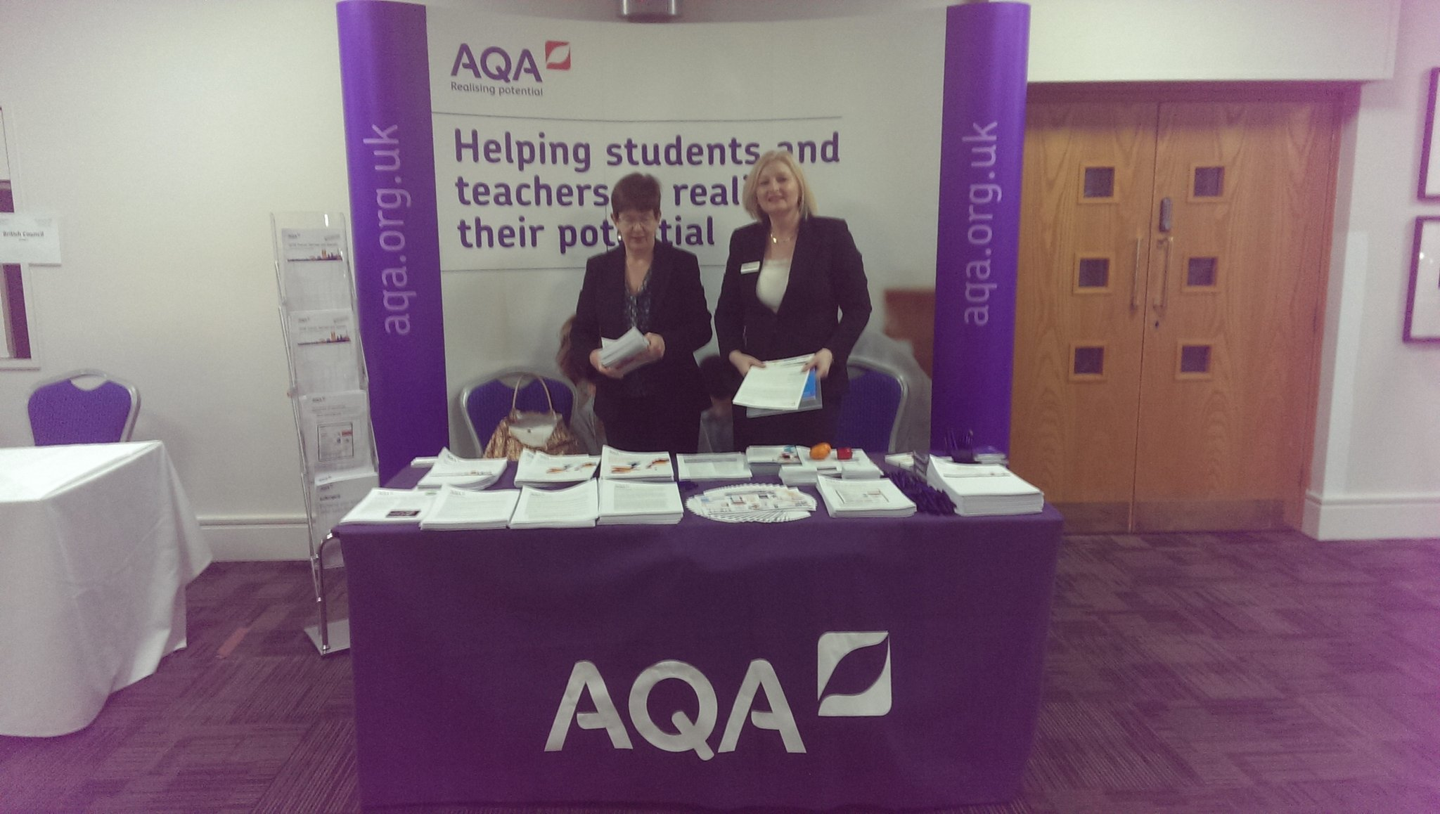 @AQA ready for #LW2017 @ALL4language https://t.co/NIK22ISmHQ