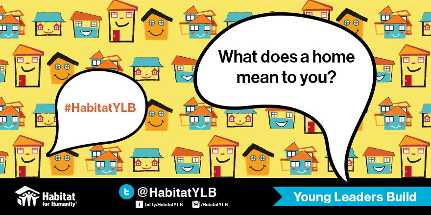 How would you define a happy home? #HabitatYLB #happyhomes https://t.co/3Z8N8jsOBk
