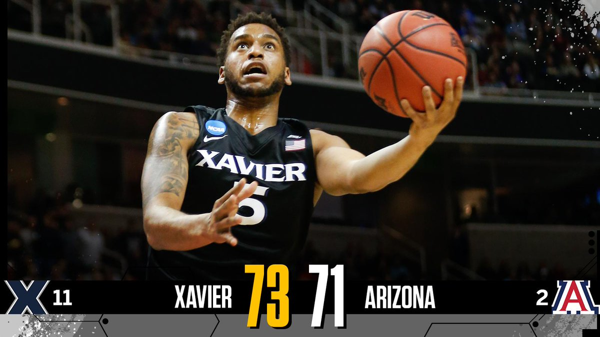 What a stunner!  11-seed Xavier ends the game on a 9-0 run to shock 2-...