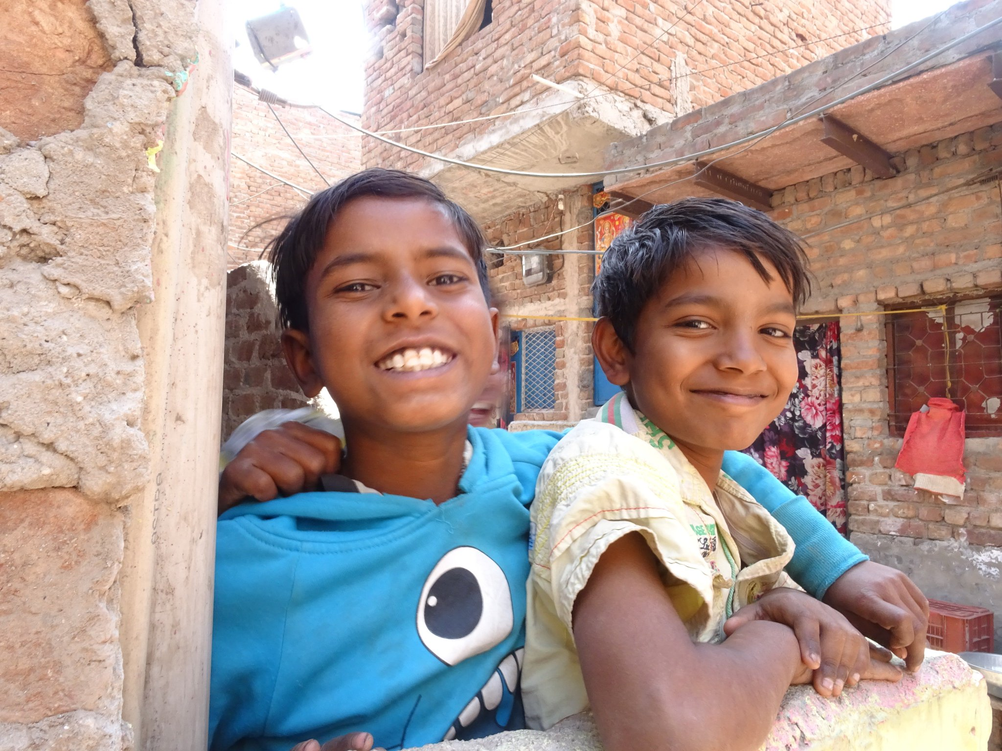 Happy Home is where you can find a BIG SMILE.  #HabitatYLB @habitatindia https://t.co/w5N1LH3eJO