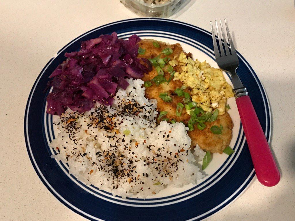 Blue apron katsu catfish -  Blueapron Katsu Style Catfish With Black Garlic Mayonnaise Jasmine Ricepic Twitter Com Vlicl2twyx