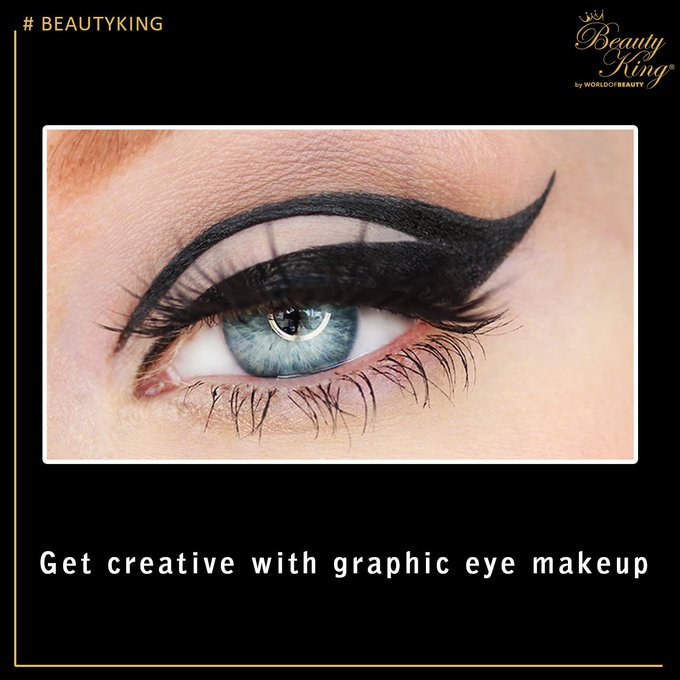 Graphic Eyeliner Makeup Tutorial