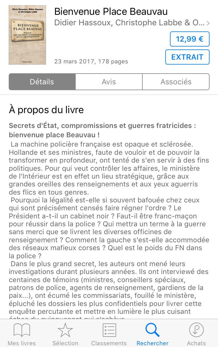 #Hassoux explique que #Hollande n&#39;est pas en cause et qu&#39;il n&#39;y a pas de #CabinetNoir  A-t-il au moins lu le résumé de son propre livre ?<br>http://pic.twitter.com/bFF0EcZBvX
