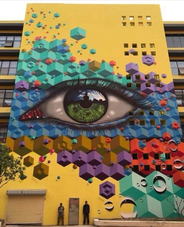 New Street Art by MyDogSighs & Snub23 in Shenzhen China 🇨🇳   #streetart #art #arte