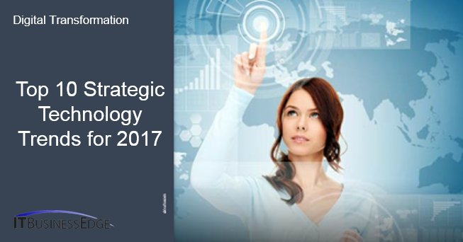 Top 10 Strategic Technology Trends for 2017