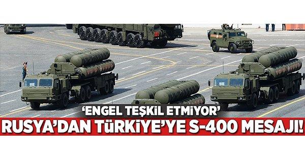 Rusya'dan Türkiye için kritik S-400 açıklaması! https://t.co/q3XrQBjxP...