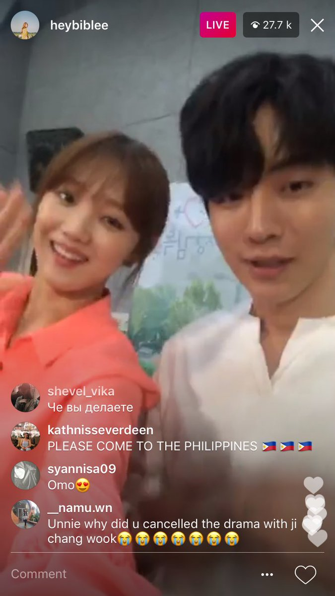 Y'ALL LEE SUNG KYUNG DID A SHORT SURPRISE IG LIVE AND LOOK AT WHO HER GUEST WAS