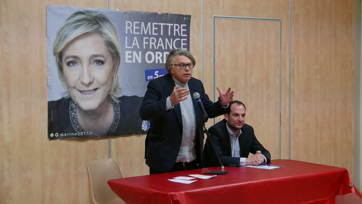 J&#39;étais hier soir à #Aspères avec @n_meizonnet pour présenter le projet de @MLP_officiel ! #GARD <br>http://pic.twitter.com/tYgmFhn0Xm