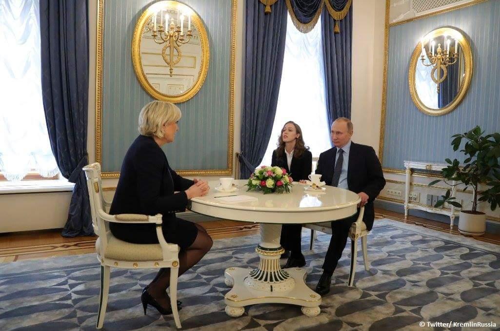 Собеседование на должность президента Франции.
