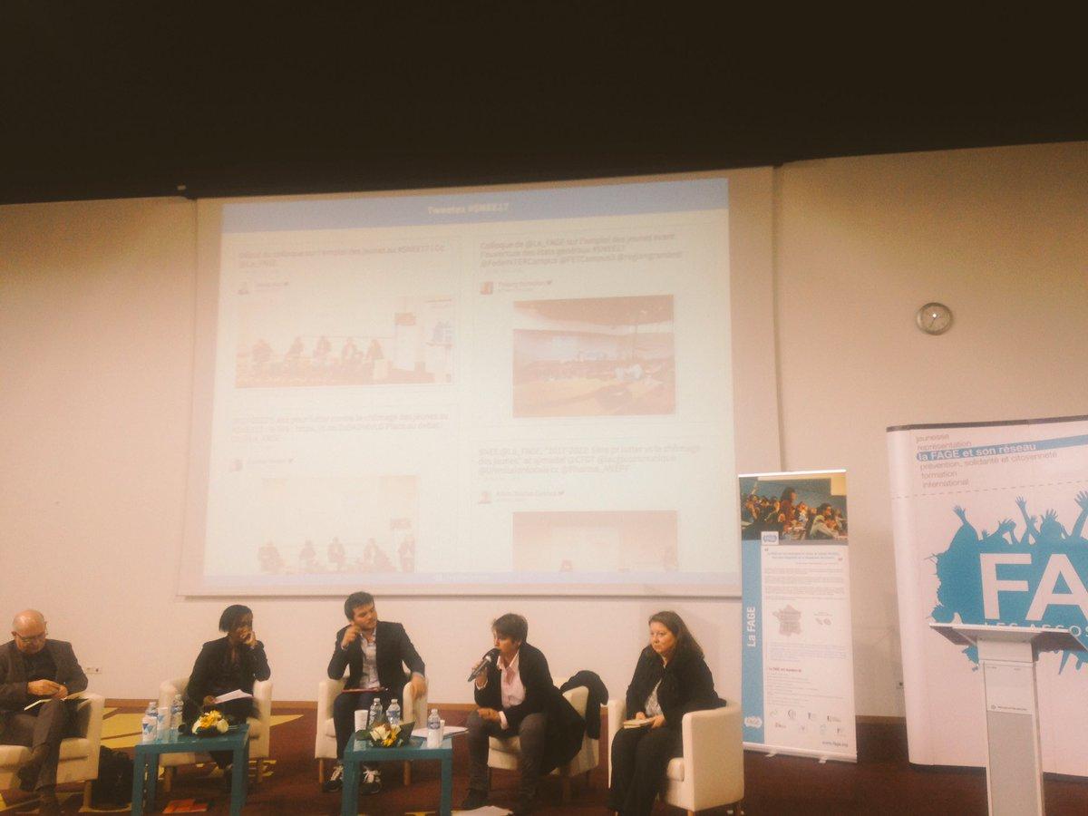Lancement des #Etats Généraux de @La_FAGE au #SNEE17 par le colloque en présence de @lacgtcommunique @medef @UNmissionlocale @CFDT <br>http://pic.twitter.com/9I705eHS3U