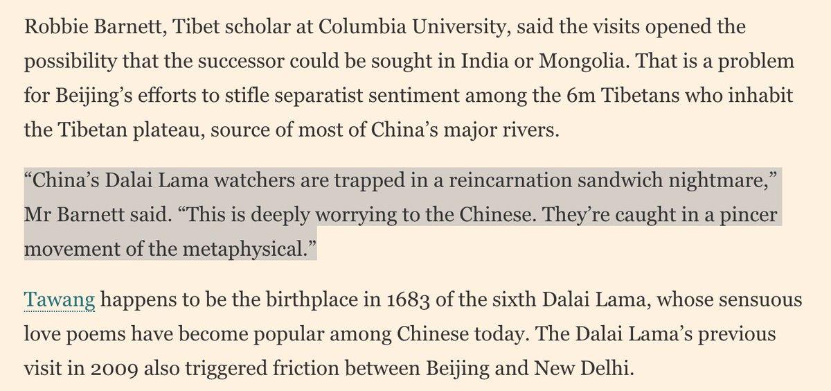 Dalai Lama's travel plans ignite reincarnation row  https://www. ft.com/content/40b8ff 9c-102b-11e7-b030-768954394623 &nbsp; …  via @FT (@hornbylucy) #Tibet #China <br>http://pic.twitter.com/LuXzT1AswN